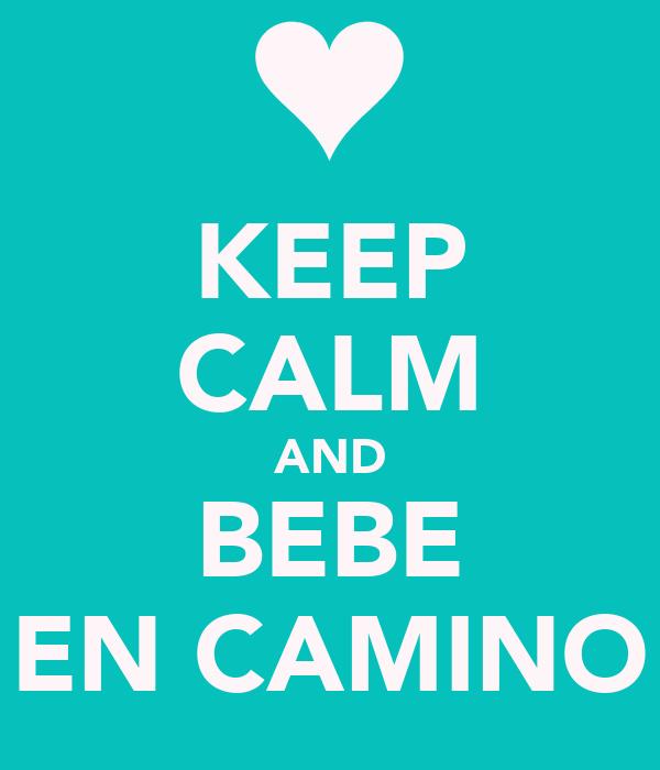 Keep calm and bebe en camino poster diana keep calm o - Bebe en camino ...