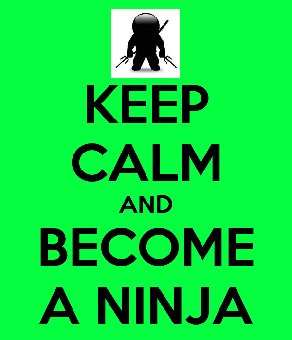 how to become a ninja in tera
