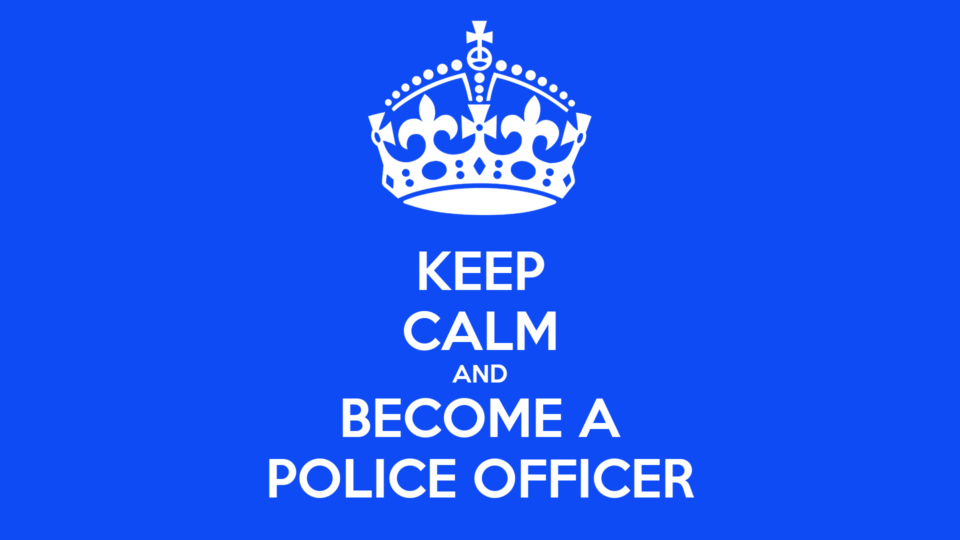 becoming a police officer essays