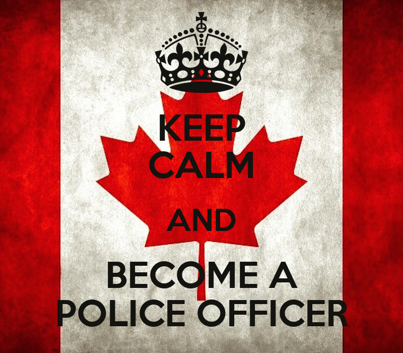 Keep calm and become a police officer poster emilie - How to apply to become a police officer ...