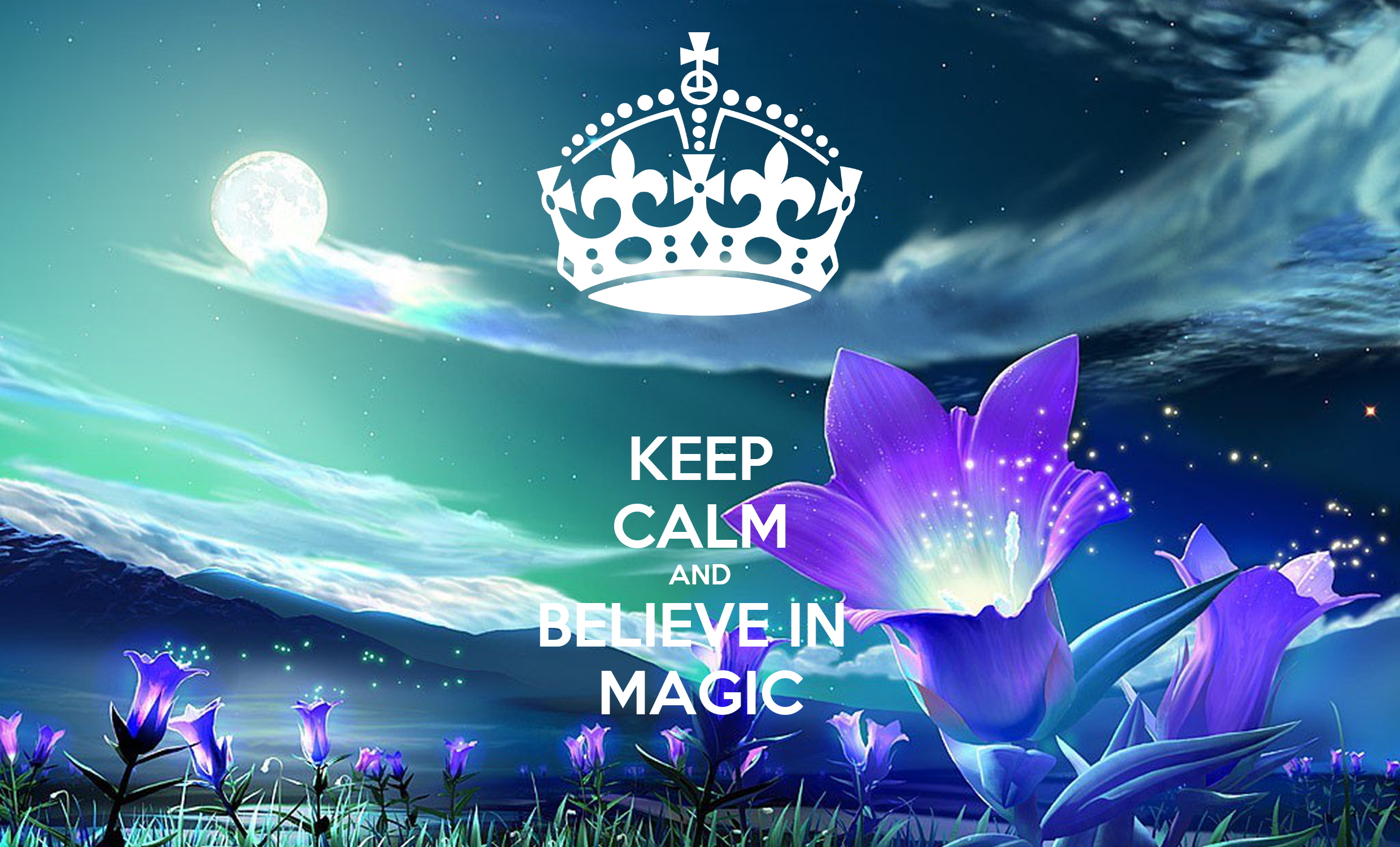 keep calm and believe in magic poster emma keep calm o matic. Black Bedroom Furniture Sets. Home Design Ideas
