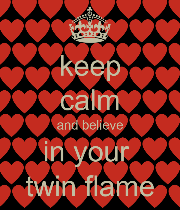 keep calm and believe in your twin flame Poster | angelwilding