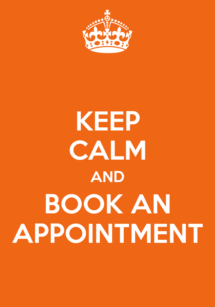 keeping appointments Keep your appointment schedulers up to date if you aren't the only person scheduling your appointments, it's vital to keep the others in the loop.