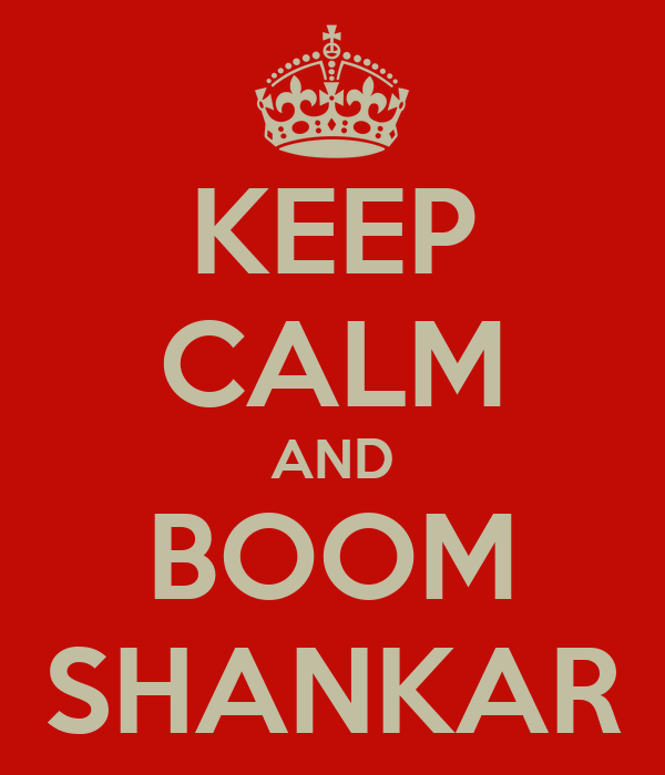 Boom Shankar Wallpaper Keep Calm And Boom Shankar