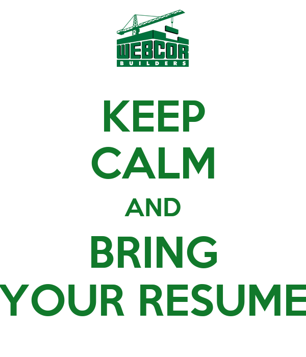 keep calm and bring your resume poster ankit keep calm