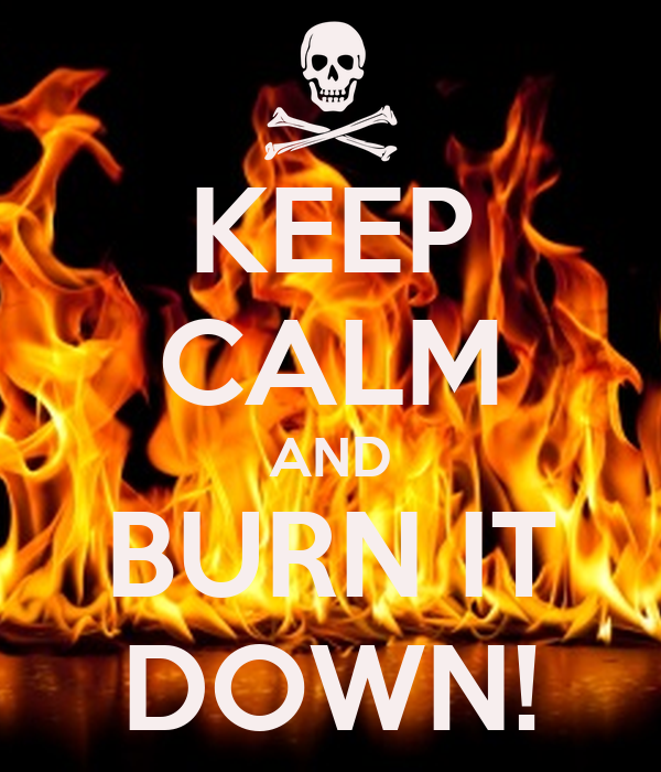 how to keep a burn clean