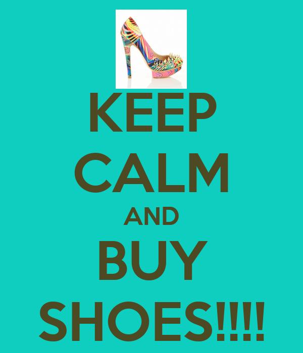Keep Calm And Buy Shoes Mug