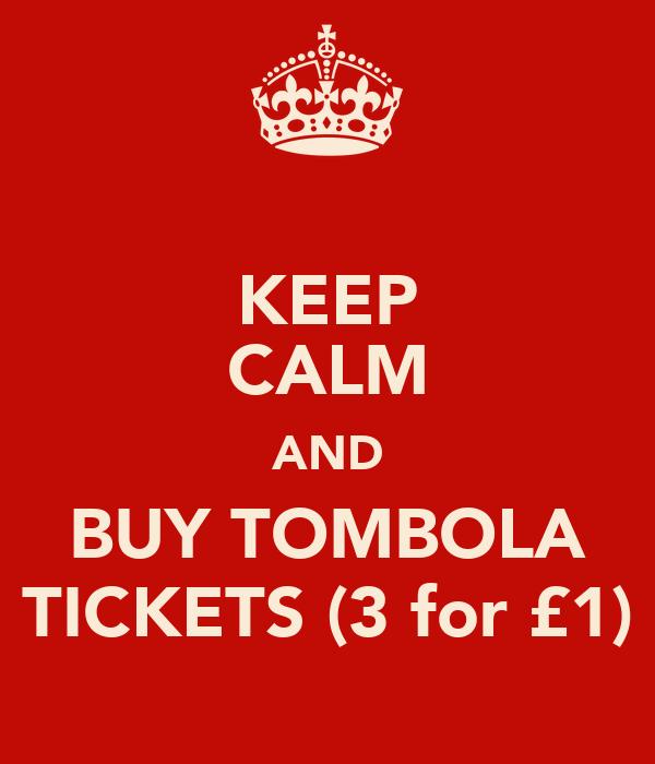 tombola tickets