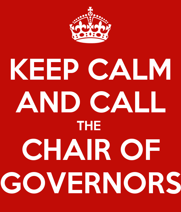 Image result for chair of governors
