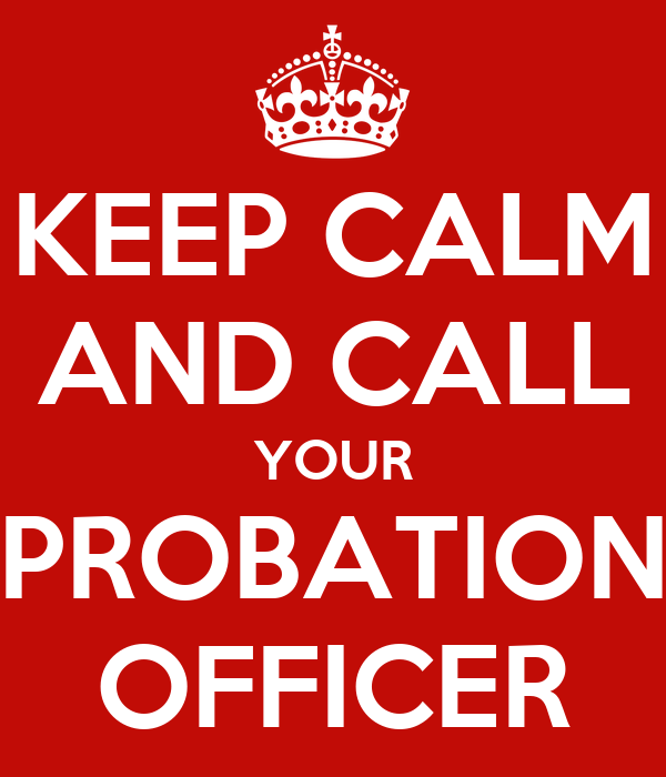 probation crime and p o officer Case o' the week: lying to probation not a crime a defendant shouldn't lie to a probation officer gould and paez), a po who reports.