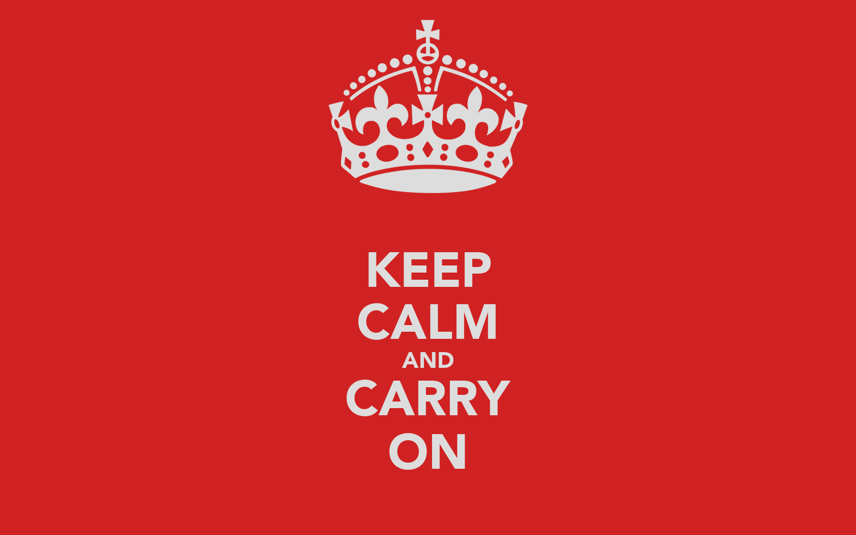 keep calm and carry on poster mike gotham keep calm o matic. Black Bedroom Furniture Sets. Home Design Ideas