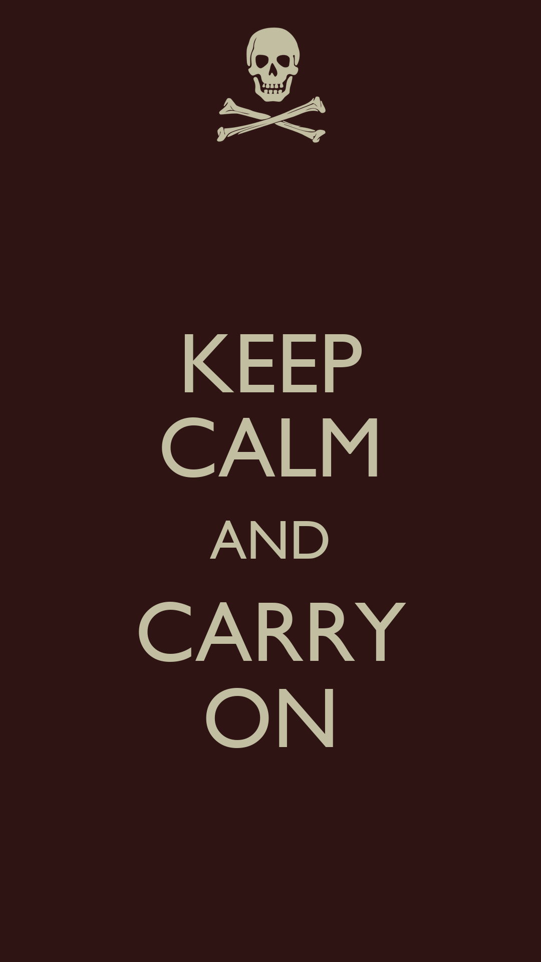Keep Calm and Carry On Poster Generator