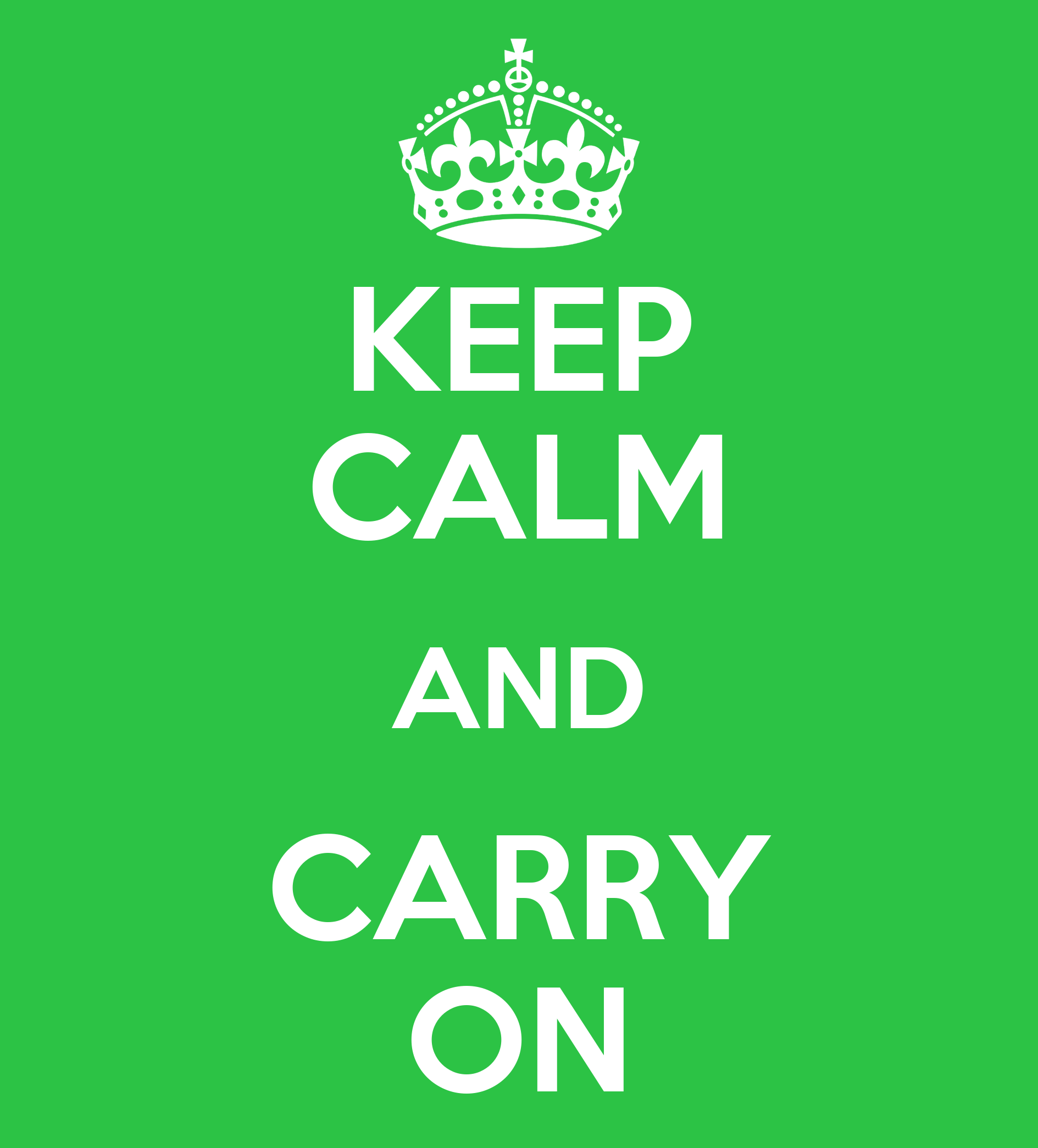 keep calm and carry on poster lvale keep calm o matic. Black Bedroom Furniture Sets. Home Design Ideas