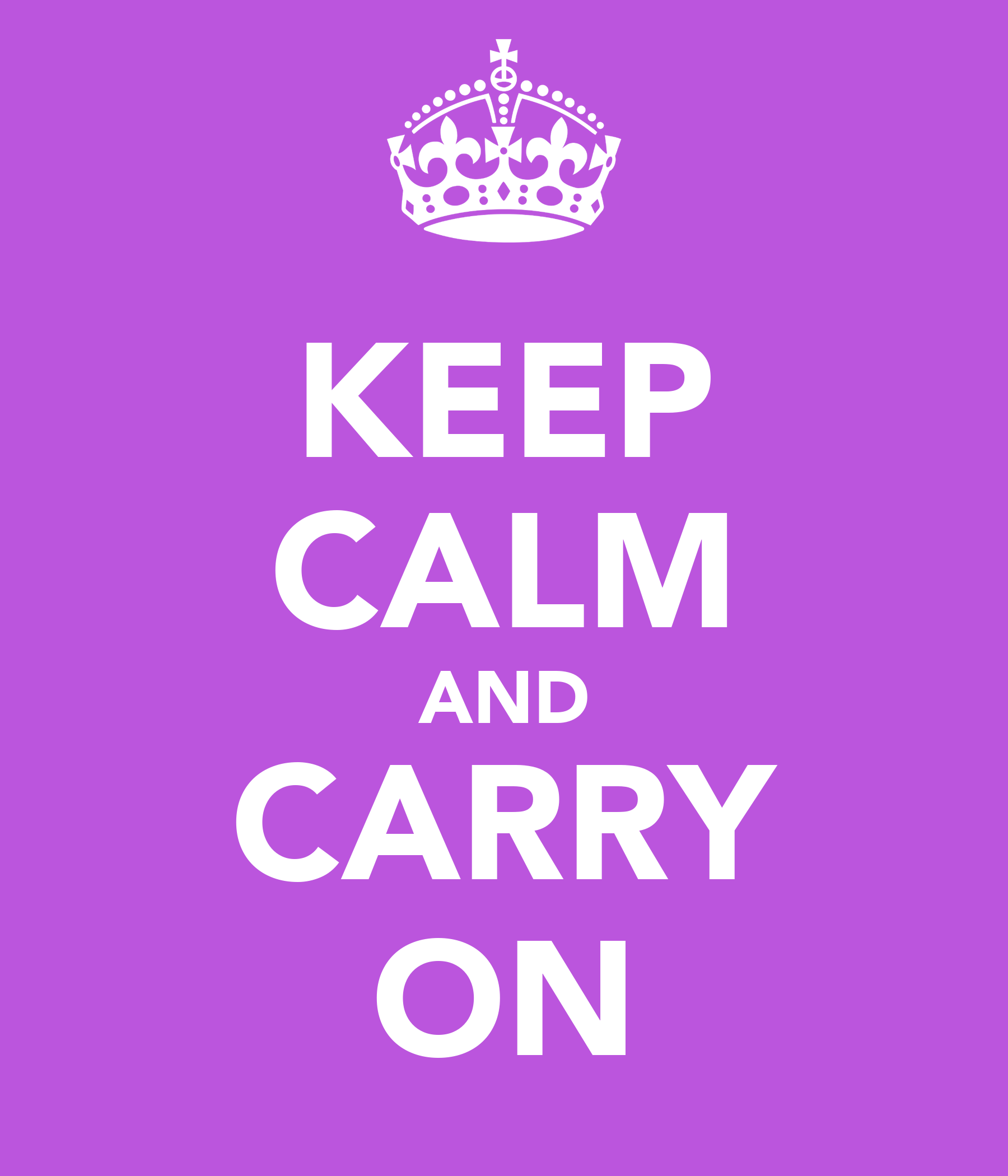 keep calm and carry on poster christie keep calm o matic. Black Bedroom Furniture Sets. Home Design Ideas