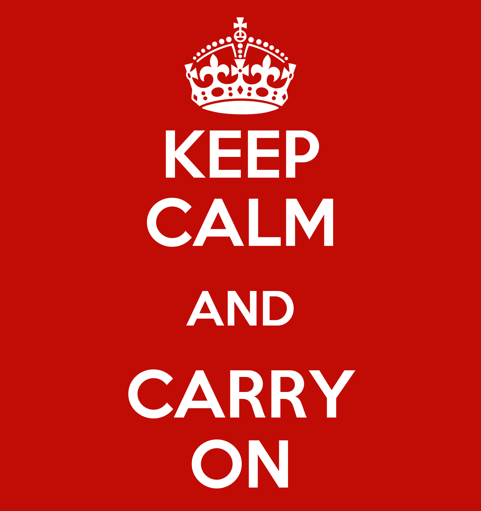 Wall Stickers Personalized Keep Calm And Carry On Keep Calm And Carry On Image