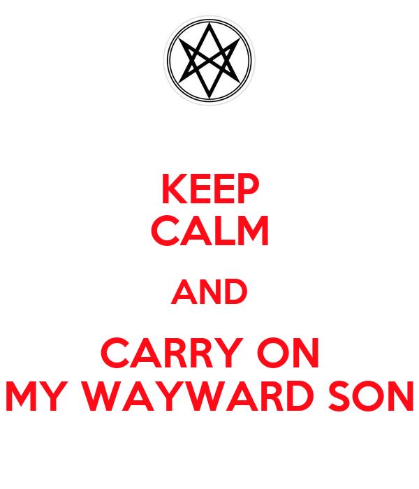 carryon my wayward son tab pdf