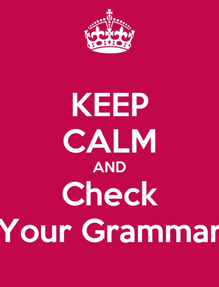 Check essays grammar