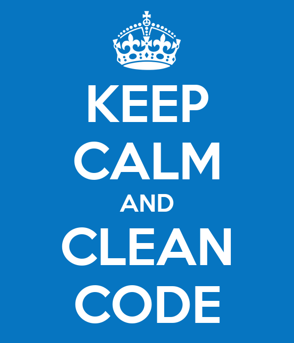 KEEP CALM AND CLEAN CODE Poster | Itai | Keep Calm-o-Matic