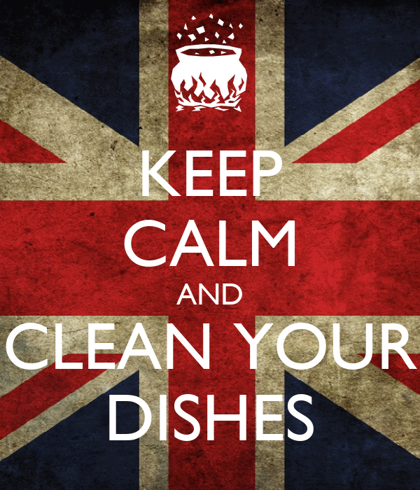 how to keep dishes clean in rv