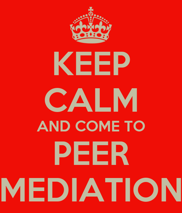 How is Peer Mediation Used in the Classroom? - Peer Mediation