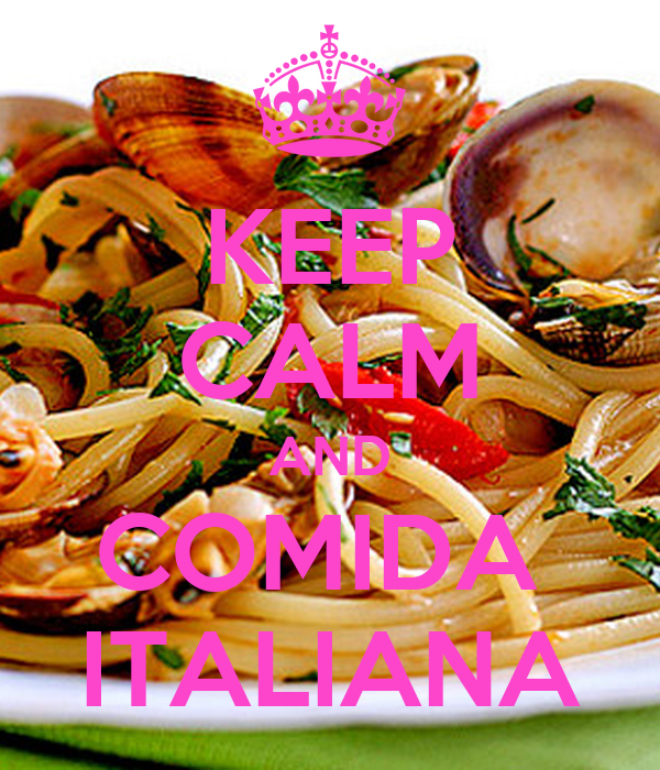Keep calm and comida italiana keep calm and carry on for Gastronomia italiana pdf