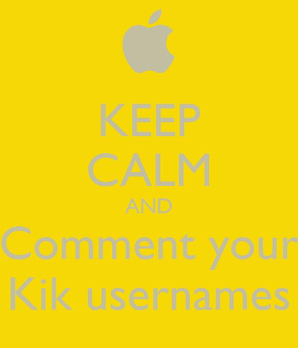 Male Kik Usernames - KikBoys.com - Find Kik usernames