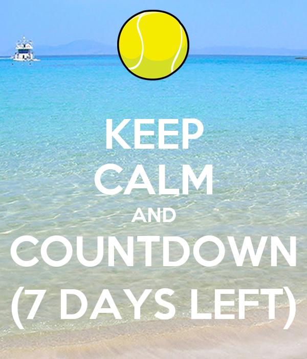 Countdown 7 Days Volume 1 Countdown Days Amazonde