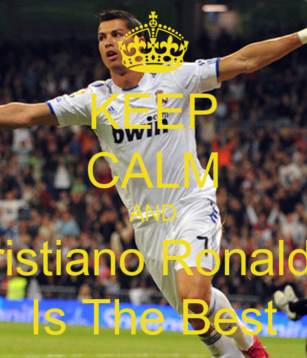 Keep Calm And Cristiano Ronaldo Is The Best Poster Marco
