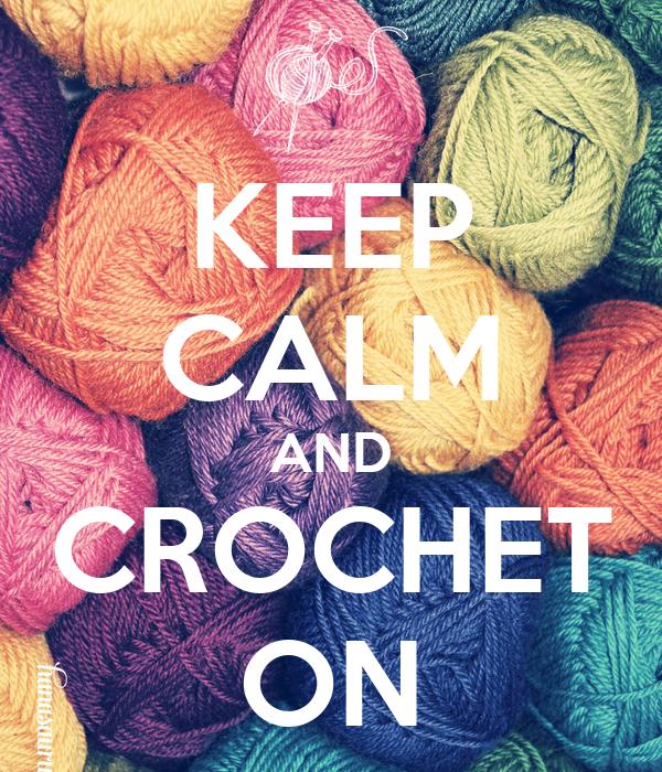 Knitting Wallpaper Uk : Keep calm and crochet on poster christiana o