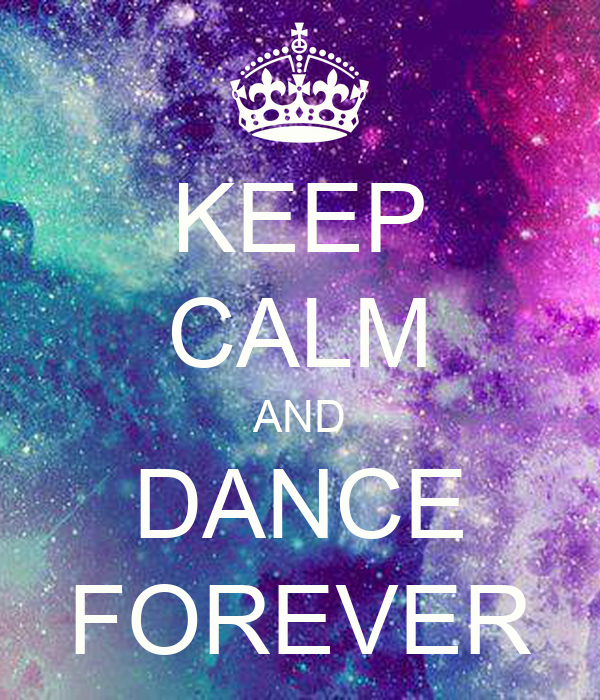 Keep Calm And Dance Wallpaper