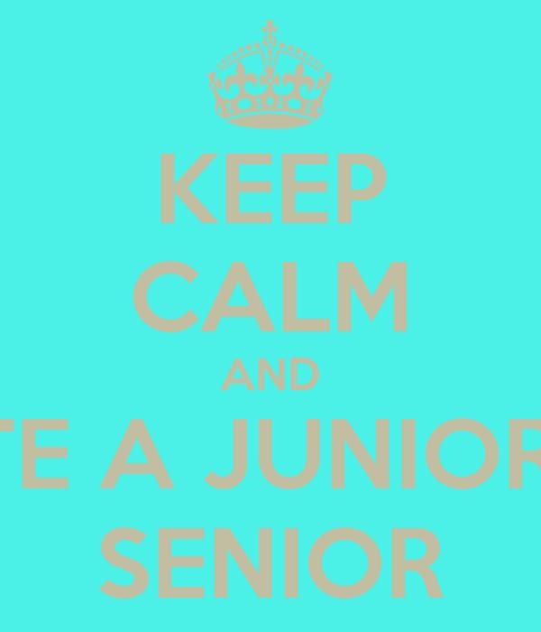 Junior och Senior dating