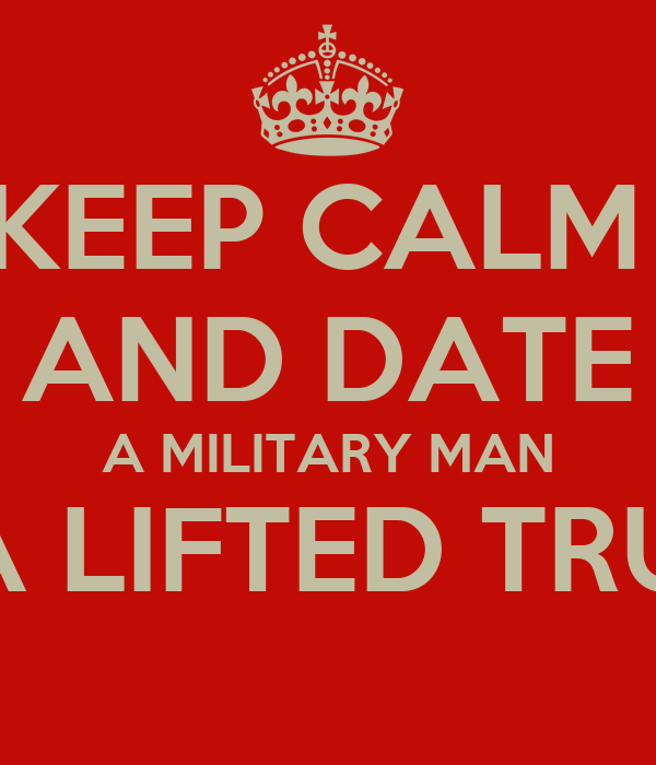 Date a military guy