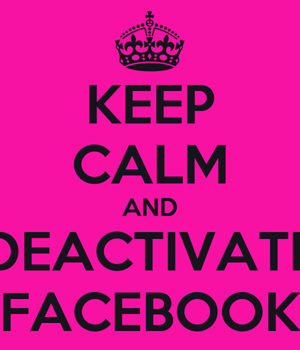 how to deactivate facebook but keep messenger