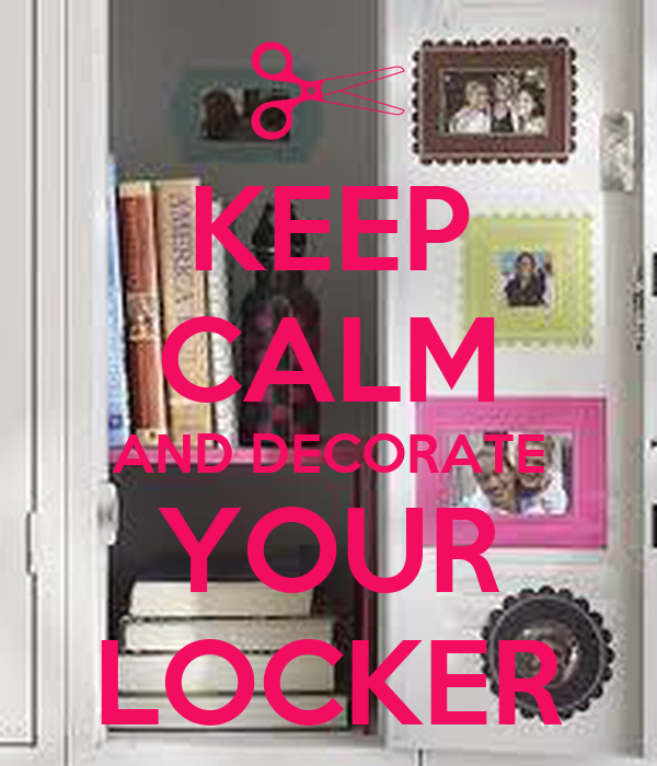 Ways To Decorate Your Locker Jerusalem House