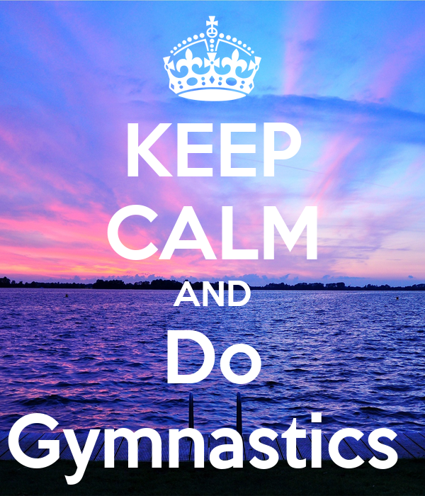 Keep Calm and Do Gymnastics Poster | Zazzle  |Keep Calm Gymnastics