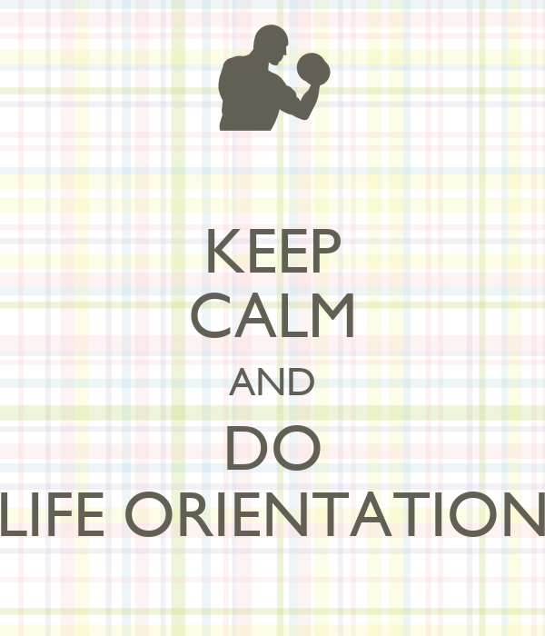 life orientation Keywords family background self-esteemcounselling teacher training bullying life orientation abstract the study focused on grade nine learners who were bullying one another even though they were taught life orientation the purpose of the study was to explore the experiences of life orientation teachers.