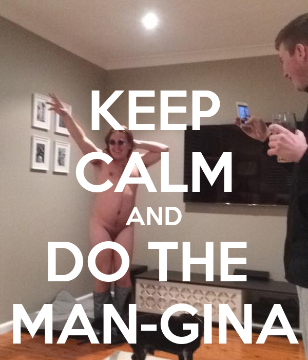what does a mangina look like