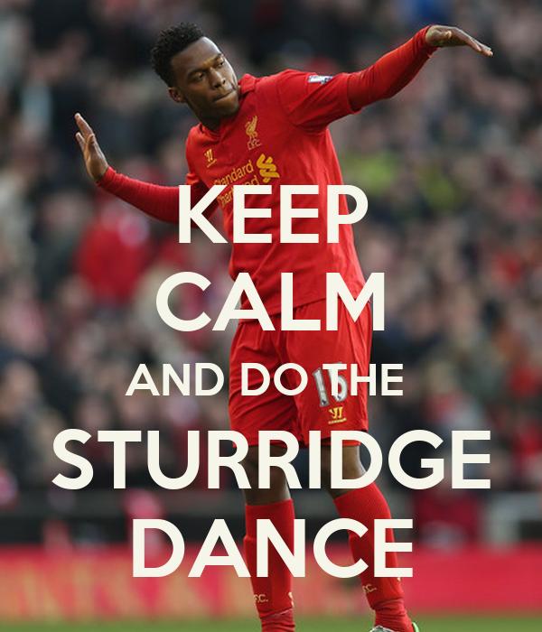 how to do the sturridge dance