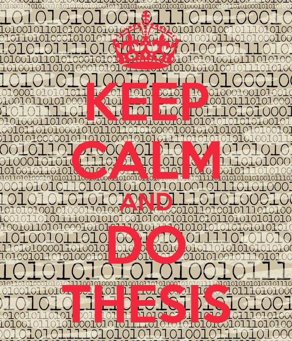do thesis
