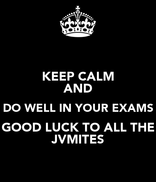 keeping your cool in exams Keep your cool fronting up to an exam can be nerve-wracking, but here are some tips for staying calm.