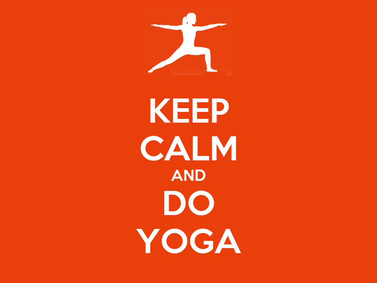 KEEP CALM AND DO YOGA Poster | Khyati