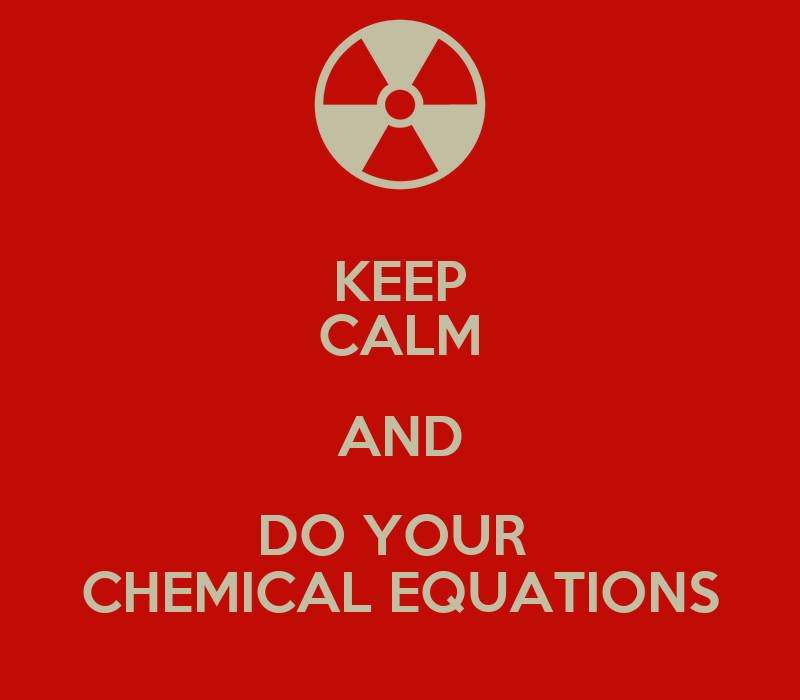 Chemical Equation Wallpaper do Your Chemical Equations