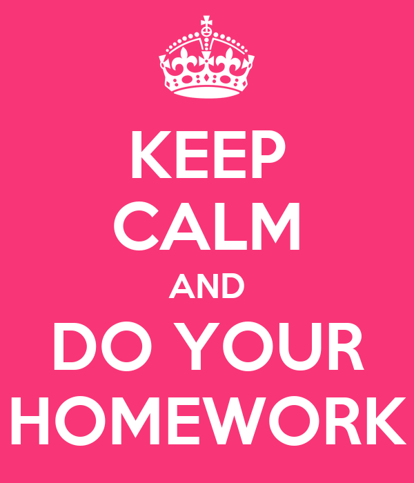 To my homework