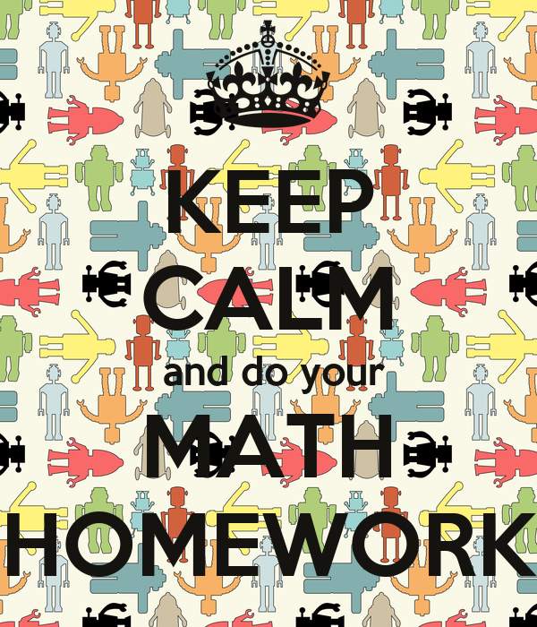 Do math homework