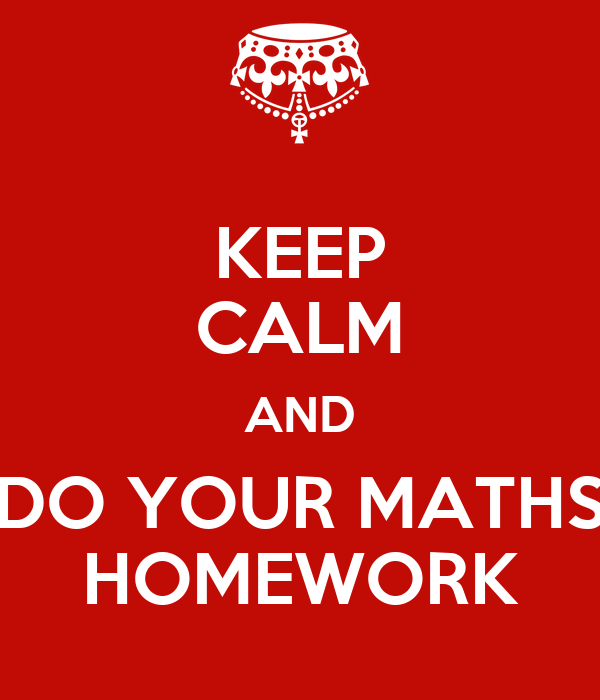 Do maths homework