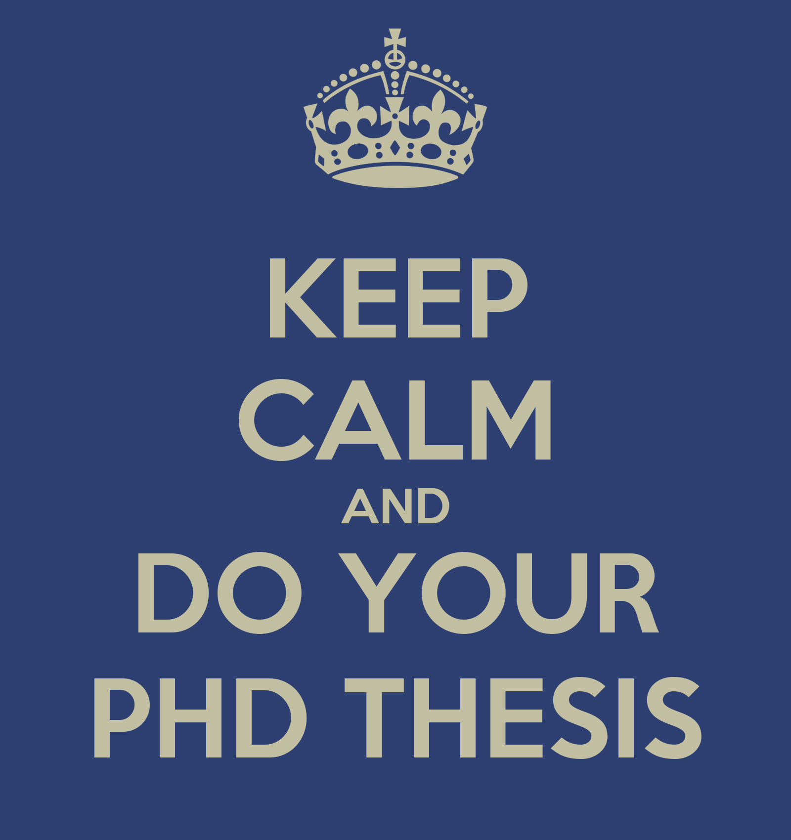 In many fields, the highest degree you can have is a doctorate degree.