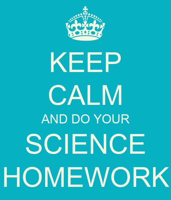 Math and science homework help