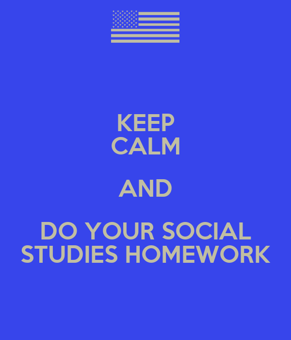 Social studies homework answers