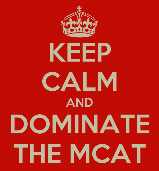 Key to scoring high on the 2015 MCAT
