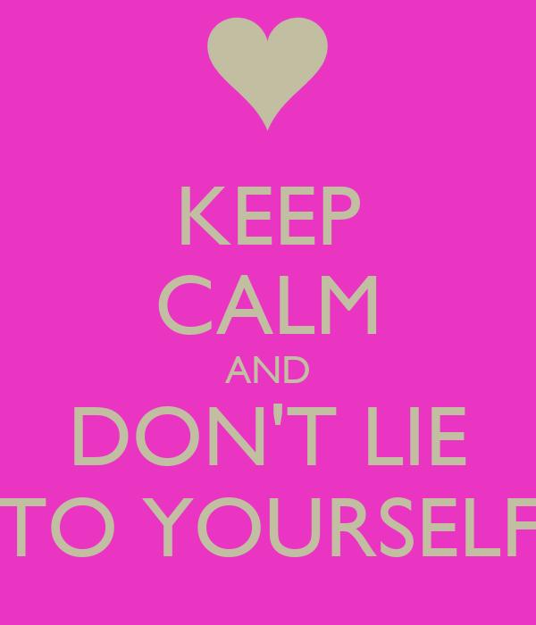 Don't flirter yourself